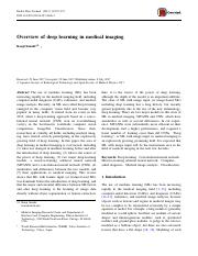 Overview of deep learning in medical imaging.pdf