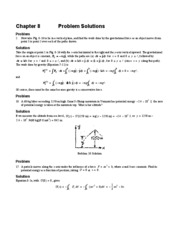 Ch. 8 Solutions