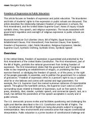 Freedom of Expression & Public Education Research Paper Starter - eNotes.pdf