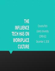 The influence Tech Has on WP Culture.pptx