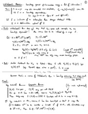 02 Whitehead theorem and approximation Lecture Notes