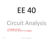 L06 Circuit Analysis