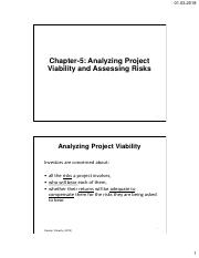 Ch05-Analyzing Project Viability and Assessing Risks.pdf