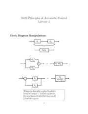 16.06_Lecture on Block Diagram Manipulations