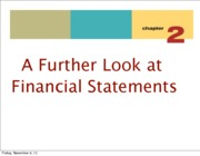 Chapter 2 A Further Look at Financial Documents