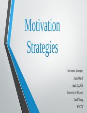 HCS370 completed Motivation Strategies.pptx
