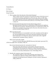 Test 1 Essay Questions Micro