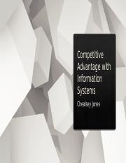 Competitive Advantage with Information Systems.pptx