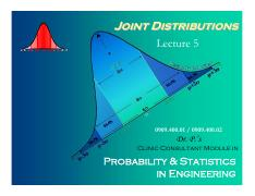 joint distributions(For Lec1)