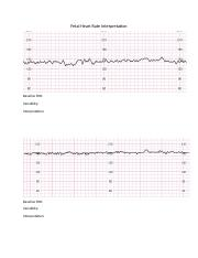 Fetal Heart Rate Interpretation worksheet[326]
