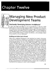 Managing new product development teams