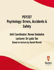 Lecture 11 - Behaviour Based Safety Upload