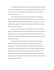 Creative Writing Personal Short Story