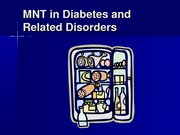 Diabetes MNT Strategies