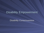 7 - Disability Empowerment