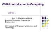 1 Introduction-CS101-Fall2009