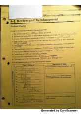 Section 4.1 Review Worksheet