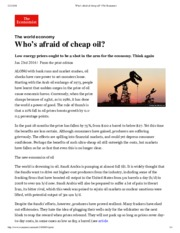 Who's afraid of cheap oil- - The Economist.pdf