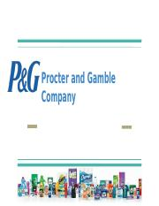 Case 23- The Procter and Gamble Company- Investment in Crest Whitestrips Advanced Seal