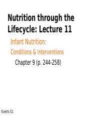 NFS 3033 : nutrition through life cycle