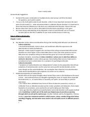 Exam 1 study Guide abnormal psych.docx