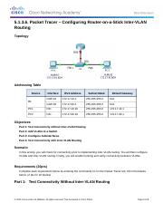 5.1.3.6 Packet Tracer - Configuring Router-on-a-Stick Inter-VLAN Routing_kabraun.docx
