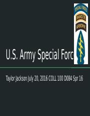 U.S. Army Special Forces.pptx