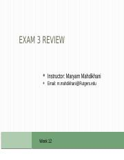 Exam 3- review.pptx