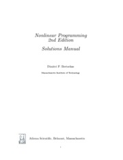 Nonlinear-Programming-Bertsekas-solutions (1)