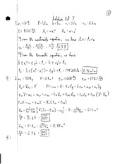 PHYS 213 - PS7 Solutions