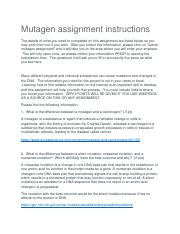 1 Mutagen Assignment.docx