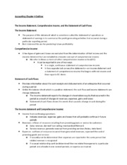 Accounting Chapter 4 Outline