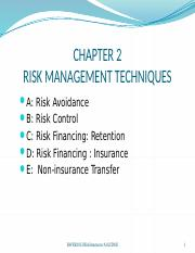 CH2 Risk Mgmt Techniques.pptx