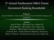 3rd_Annual_Southeastern_MA_Forum_Investment__Banking_Roundtable