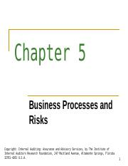 Business Processes and Risks.ppt