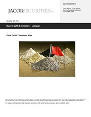Rare Earth Elements Update - Jacob Securities (2011)