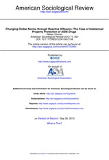 MDG 8 - American Sociological Review-2012-Chorev-831-53