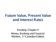 Topic3_Future Value Present Value and Interest Rates (1)