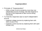 Superposition Powerpoint Notes