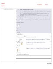 Solving Equations ch-5 notes