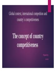 The concept of country competitiveness .pptx