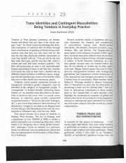 Blackwood - 2009 - Trans Identities and Contingent Masculinities Bei.pdf