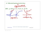 6_2_Differential_Eq_Exponential_Growth_Decay