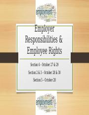 6.5 Employer Responsibilities & Employee Rights Additional Slides.pptx