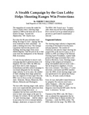 EC 101 Article 05 A Stealth Campaign by the Gun Lobby Helps Shooting Ranges Win Protections
