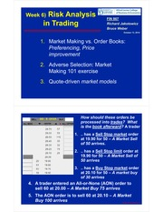 6.Risk Analysis in Trading