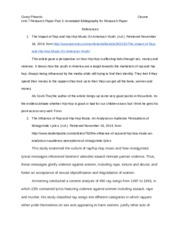 Unit 7 Research Paper Part 3_ Annotated Bibliography for Research Paper