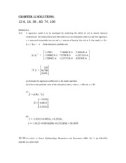 CHAPTER 12 SOLUTIONS F2015