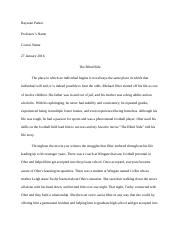 Ray's Paper