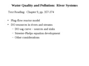 Water Quality 2